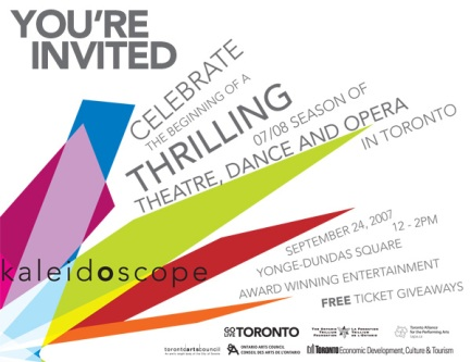 Kaleidoscope invite